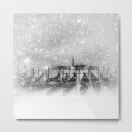 Venice | fairytale-like winter magic Metal Print