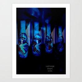 Queen of 7 Seas of Dreams Art Print