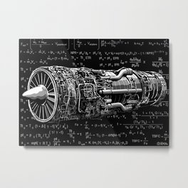 Thrust matters! Metal Print