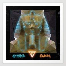 Pharao Ramses II. Art Print