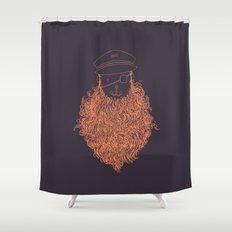 Aye Aye Captain Shower Curtain