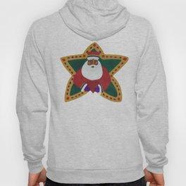 African American Santa Claus Hoody