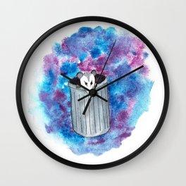 Trashy Little Friend Wall Clock