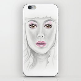 Porcelain Beauty iPhone Skin
