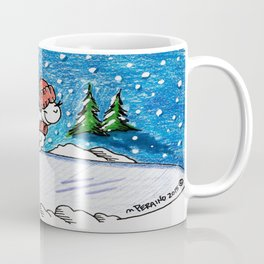 Snow Lamb Coffee Mug