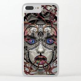 Google Medusa Clear iPhone Case