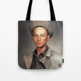 Woody Guthrie, Music Legend Tote Bag