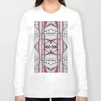 teeth Long Sleeve T-shirts featuring teeth by patternkat