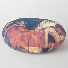 Maurice Denis  - Wave - Digital Remastered Edition Floor Pillow