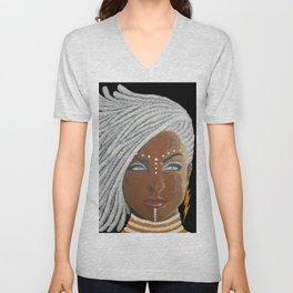 African Goddess Unisex V-Neck