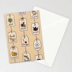 Tea Tag Time Stationery Cards
