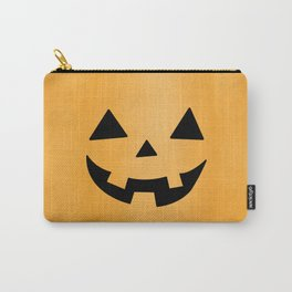 Happy Jack-O-Lantern Carry-All Pouch