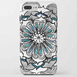 Doodle Mandala iPhone Case