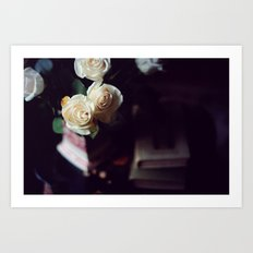 i'd rather have roses Art Print