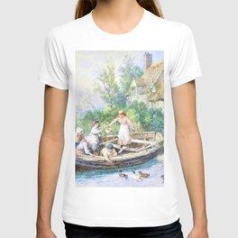 12,000pixel-500dpi - Myles Birket Foster - The ferry - Digital Remastered Edition T-shirt