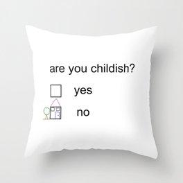 Litmus Throw Pillow
