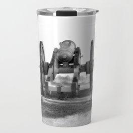 Civil War Cannon Photography Art Travel Mug