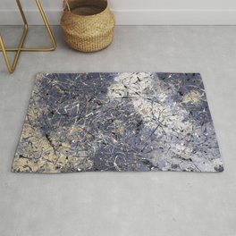 Orion - Jackson Pollock style abstract drip painting by Rasko Rug
