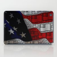american iPad Cases featuring American by Tracy66