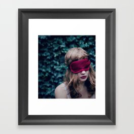 Wanting only to dream Framed Art Print