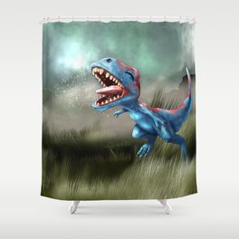 gonna be a killer someday Shower Curtain