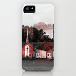 A Church (Extreme Holga Effect) iPhone Case