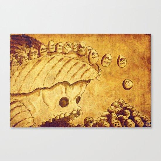 Lemmings Canvas Print