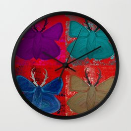 Stagerfly Collage Wall Clock
