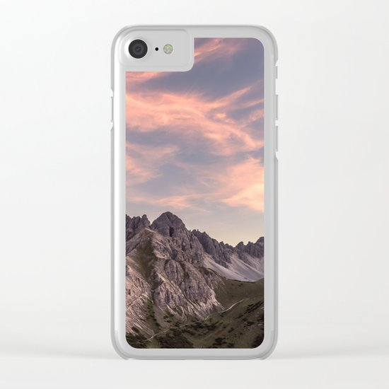 Alpine Journey Clear iPhone Case