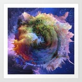 Khaos(Butterfly Effect) Art Print