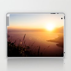 The view from my tent over Lake Atlitán Laptop & iPad Skin