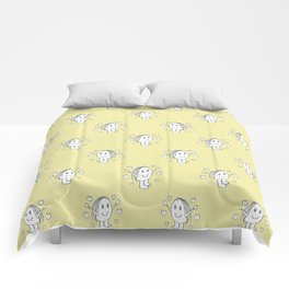 Cute Cartoon Drawing Pattern Comforters