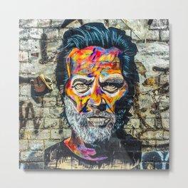 Grafitty shoreditch - London Metal Print