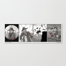 Laser Accuracy Canvas Print