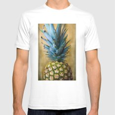 Pineapple Mens Fitted Tee MEDIUM White