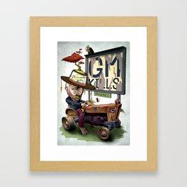 GM Kills Framed Art Print