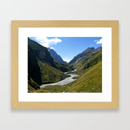 Milam Valley, India  Framed Art Print