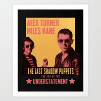 The Last Shadow Puppets - Age of the Understatement poster Art Print