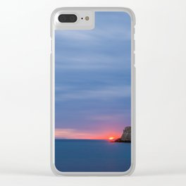 Rhodes Greece Clear iPhone Case