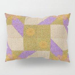 Lavender Pinwheels Pillow Sham