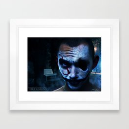 The Stalker in Your Dreams Framed Art Print