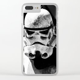 Imperial Stormtrooper 2 Clear iPhone Case