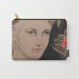 PreRaphaelite Pink Carry-All Pouch