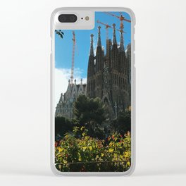 La Sagrada Familia Clear iPhone Case