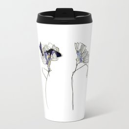 I Picked Flowers For You Travel Mug