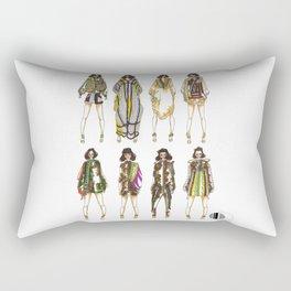 Desert Army  Rectangular Pillow