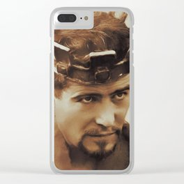 Peter O'Toole, Movie Legends Clear iPhone Case