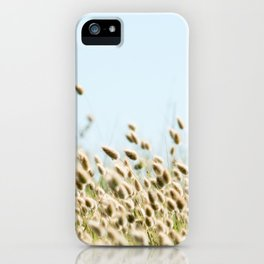 Summer beach land iPhone Case