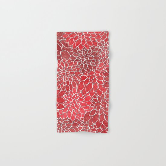 Floral Abstract 20 Hand & Bath Towel