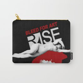 Bleed For Art Carry-All Pouch